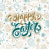 Easter Greeting Card Design Royalty Free Stock Photo
