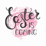 Easter greeting card - Easter is coming. Royalty Free Stock Photo