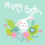 Easter greeting card Stock Photos
