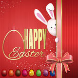 Easter greeting card. Happy Easter Royalty Free Stock Photos