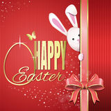 Easter greeting card. Happy Easter Stock Images