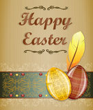Easter greeting card. Royalty Free Stock Photos