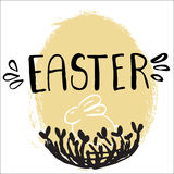 Easter greeting card. Stock Image