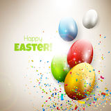 Easter greeting card Stock Image