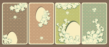 Easter greeting cards Royalty Free Stock Images