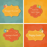 Easter Greeting Cards Collection Royalty Free Stock Photography