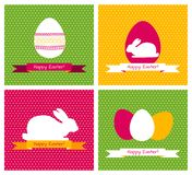 Easter greeting cards Stock Image