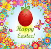 Easter greeting Stock Photography