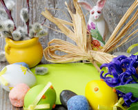 Easter Greeting Concept Royalty Free Stock Images