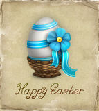 Easter greeting hard Stock Photos