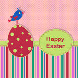 Easter greeting template Royalty Free Stock Photos