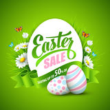 Easter greeting. Vector illustration Royalty Free Stock Photos