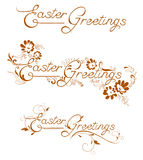 Easter Greetings Stock Photos