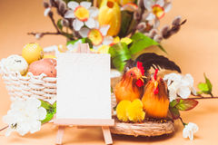 Easter greetings Royalty Free Stock Photography