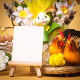 Easter greetings Royalty Free Stock Image