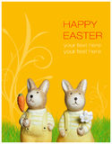 Easter greetings Royalty Free Stock Images