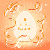 Easter greetings background Royalty Free Stock Image