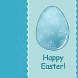 Easter greetings card Royalty Free Stock Images