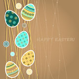Easter greetings card Stock Photos