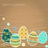 Easter greetings card Royalty Free Stock Image