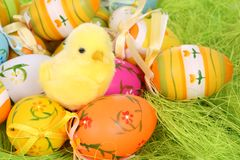 Easter gretting card Royalty Free Stock Images