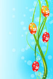 Easter grunge background Royalty Free Stock Photography