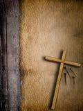 Easter grunge background Stock Images
