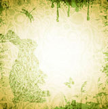 Easter Grunge Background Royalty Free Stock Image