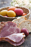 Easter ham Royalty Free Stock Photo