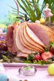 Easter ham Stock Photography