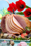 Easter ham Royalty Free Stock Photography