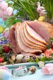 Easter ham Stock Image