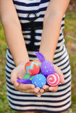 Easter in hand Royalty Free Stock Photo