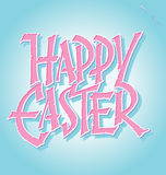 Easter hand lettering (vector) Stock Photography