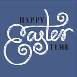Easter hand lettering Royalty Free Stock Images