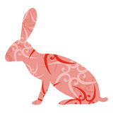 Easter hare Royalty Free Stock Photos