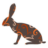 Easter hare Royalty Free Stock Photography