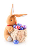 Easter hare with eggs Royalty Free Stock Photos