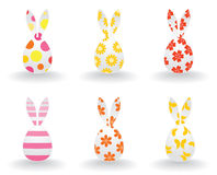 Easter hares Stock Images