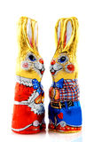 Easter hares Royalty Free Stock Photos