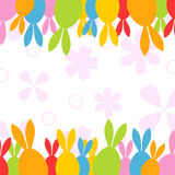 Easter hares2 Royalty Free Stock Photo