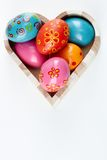 Easter heart Stock Photos