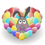 Easter_heart Photographie stock