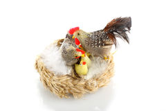 Easter hen Stock Image