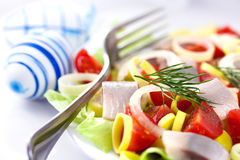 Easter Herring Salad Royalty Free Stock Images
