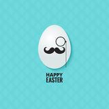 Easter hipster egg background Stock Photo