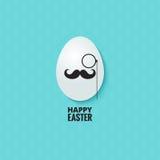 Easter hipster egg background stock photo