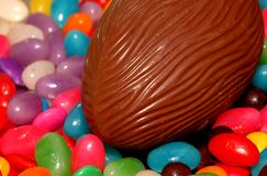 Easter holiday. An easter theme Stock Photos