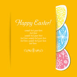 Easter holiday background stock image