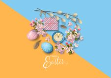 Easter Holiday Background Stock Images
